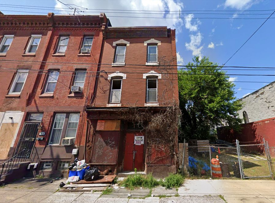 1509 West Cumberland Street. Looking north. Credit: Google