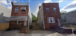 1523 South Taney Street. Looking east. Credit: Google