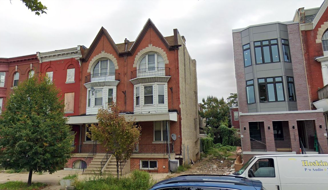 1537 North 33rd Street. Looking east. Credit: Google