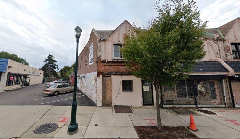 6554 Germantown Avenue. Looking west. Credit: Google