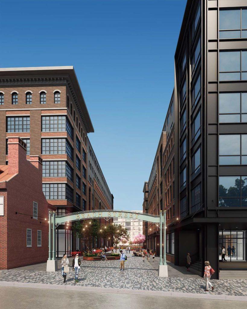700-730 Delaware Avenue. Credit: JKRP Architects via the Civic Design Review