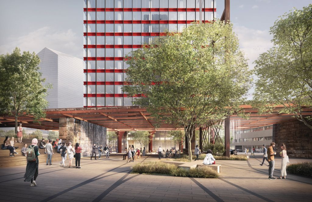 3001 John F. Kennedy Boulevard. Credit: Practice for Architecture and Urbanism