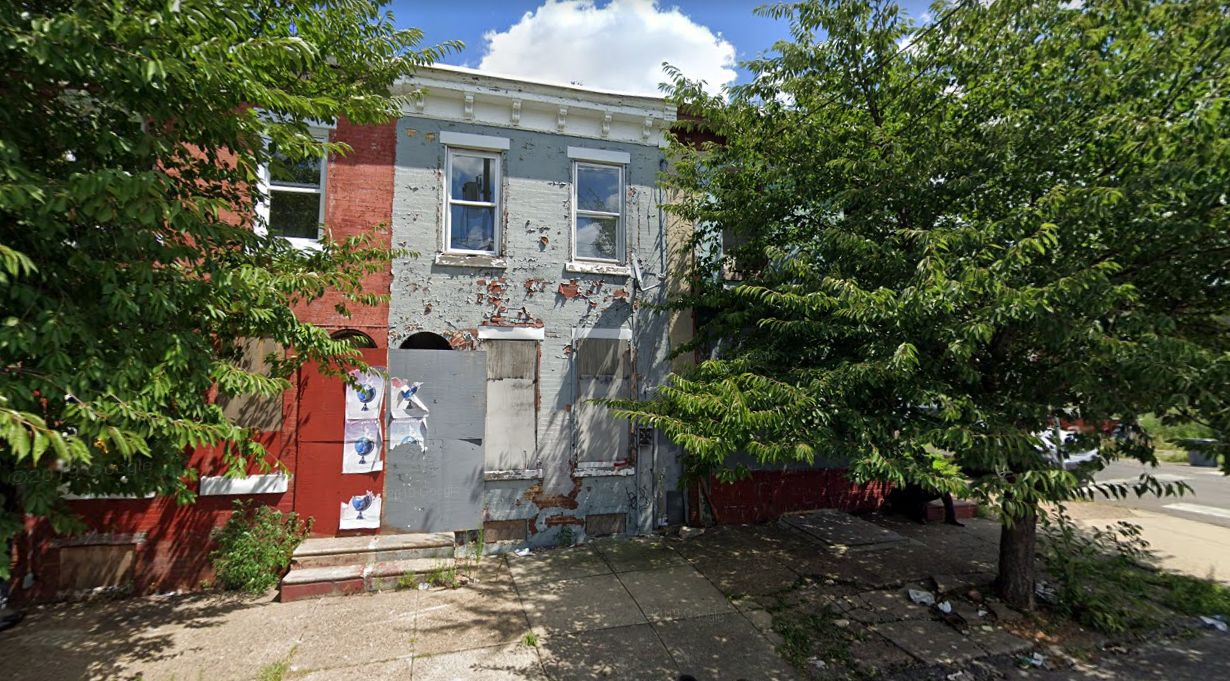 1601-1603 North 27th Street. Credit: Google