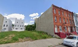 1721 North 21st Street. Looking east. Credit: Google
