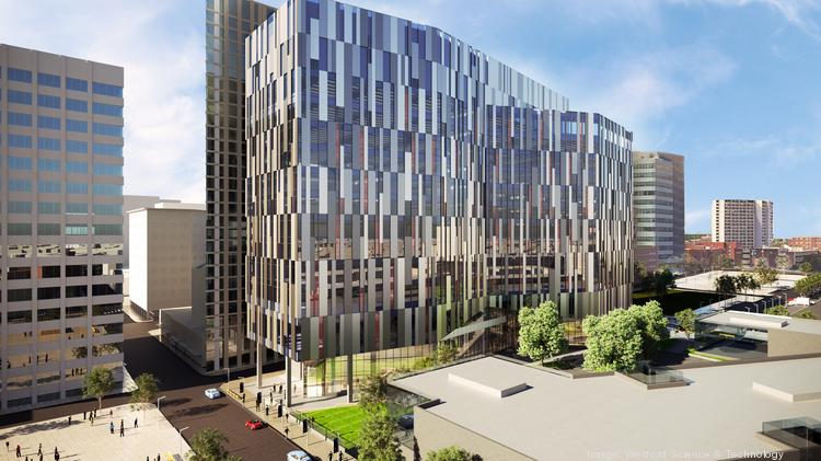 Drexel College of Nursing and Health Professions rendering via Wexford Science & Technology LLC