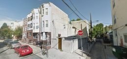 911-913 Catharine Street. Looking northwest. Credit: Google