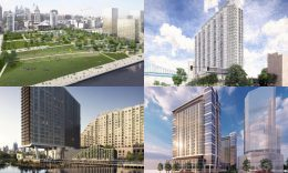 Development at Delawware Avenue. Credits listed in the article