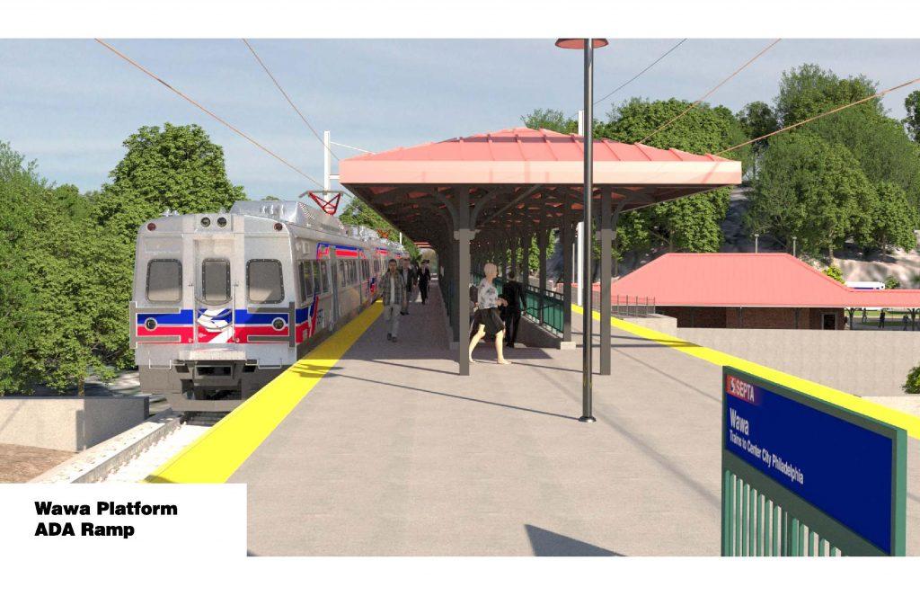 Wawa Station. Credit: SEPTA