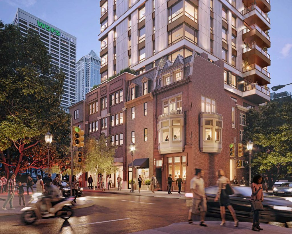 113-121 South 19th Street. Credit: Pearl Properties/DAS Architecture