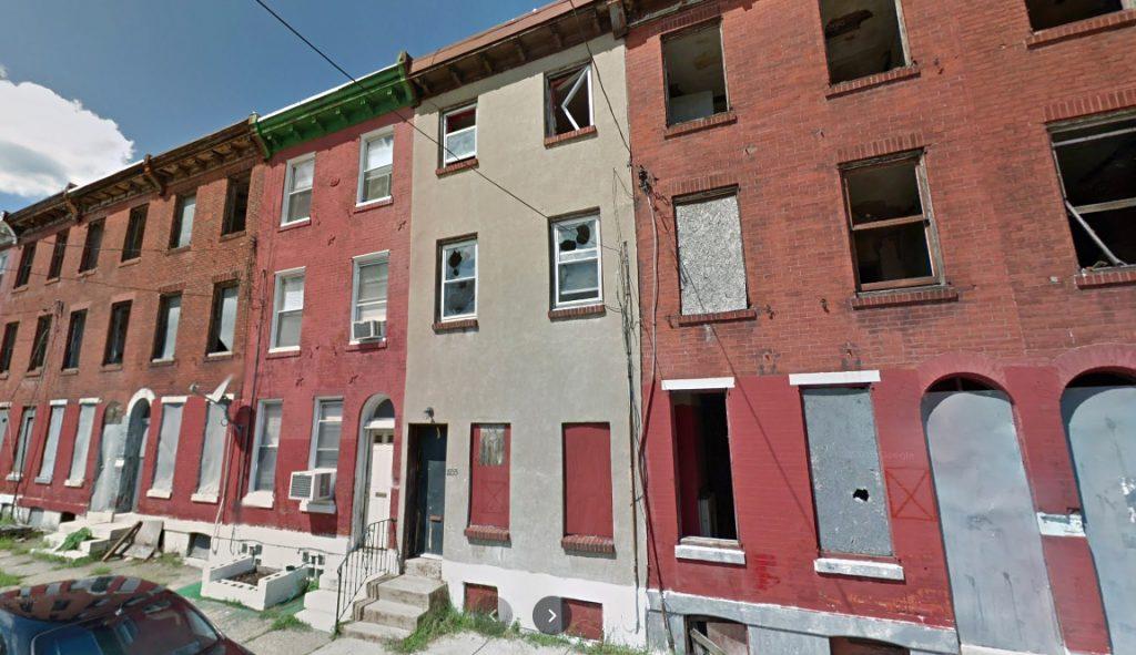 1933 Nicholas Street. Looking north. September 2011. Credit: Google