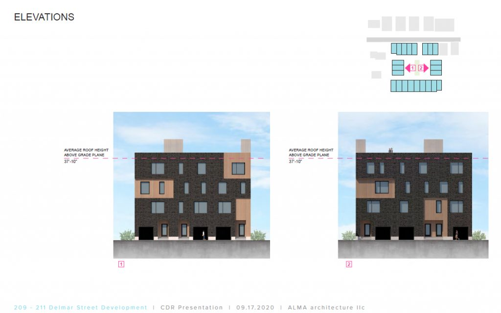 209-2011 Delmar Street. Credit: Alma Architecture