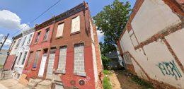 2459 North Bouvier Street. Credit: Google