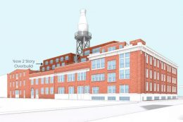 Harbisons Dairies Plant at 2041-2055 Coral Street. Credit: SgRA Architects