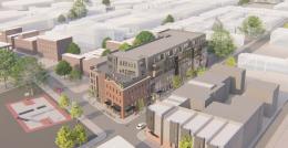 1700-30 North Howard Street. Credit: Coscia Moos Architecture