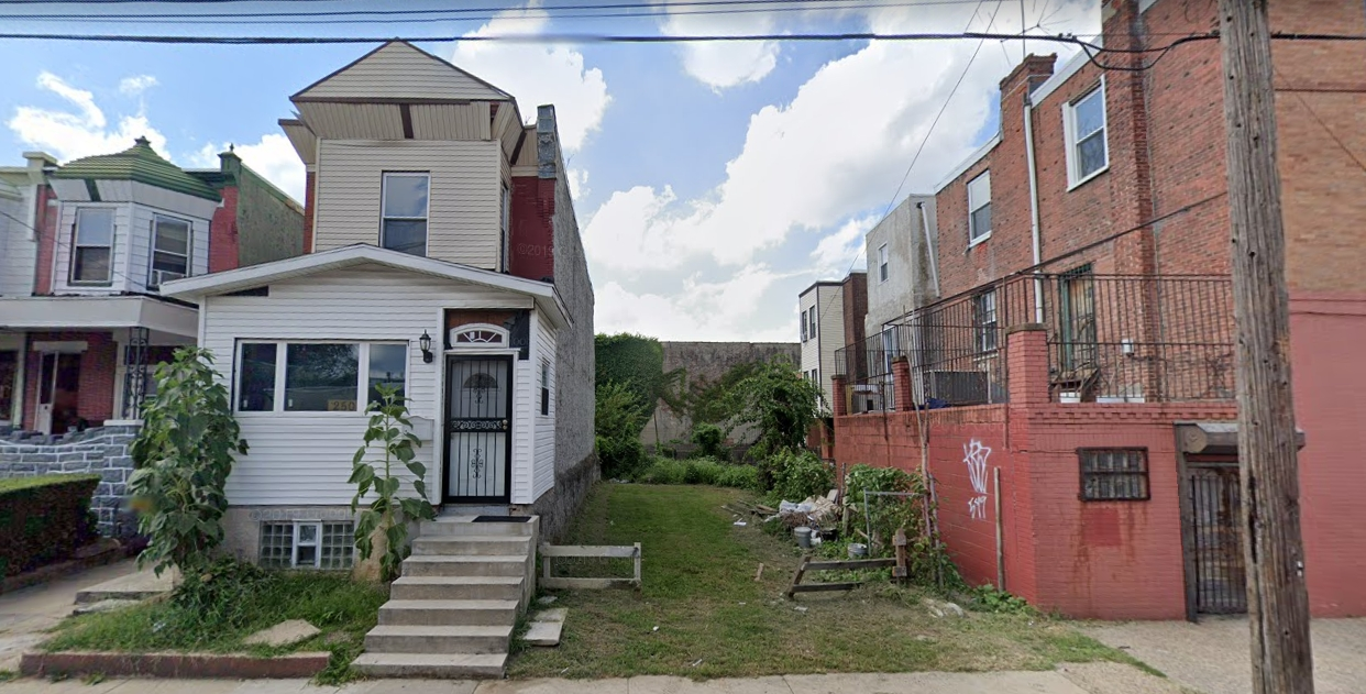 252 North 61st Street. Looking west. Credit: Google