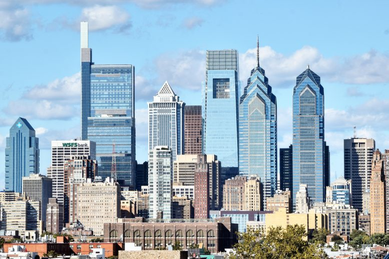 The new Philadelphia skyline. Photo by Thomas Koloski