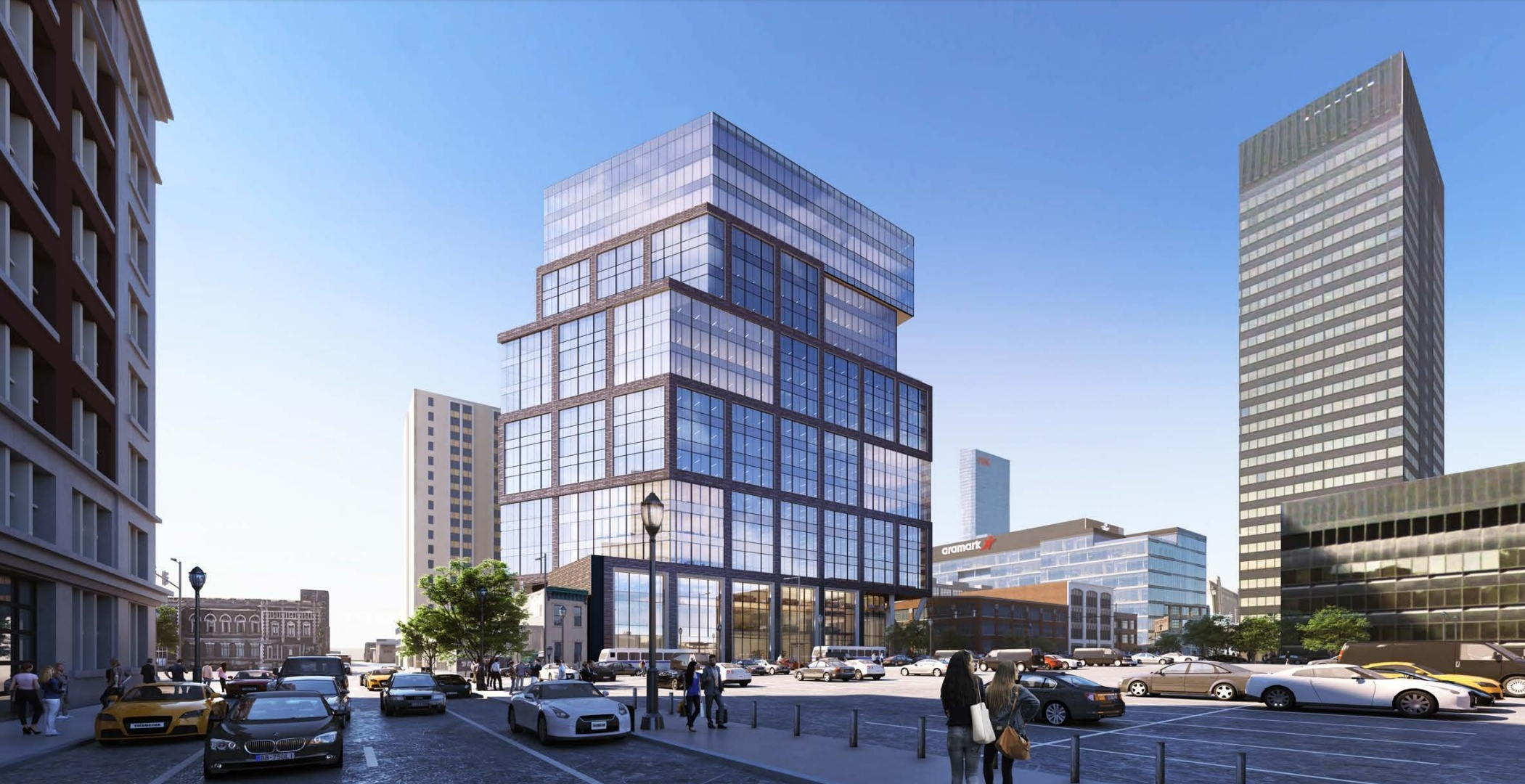 2222 Market Street rendering from Parkway Corp.