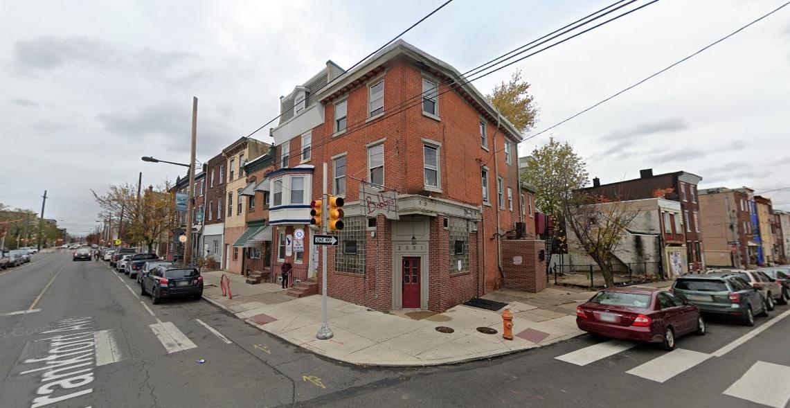 2301 Frankford Avenue. Looking east. Credit: Google