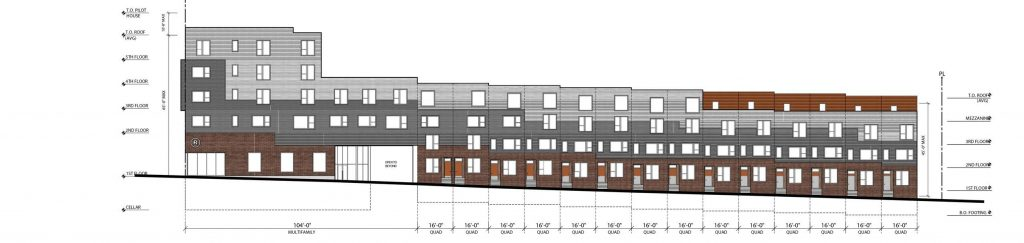 2630 West Girard Avenue. Western elevation on North 27th Street. Credit: ISA