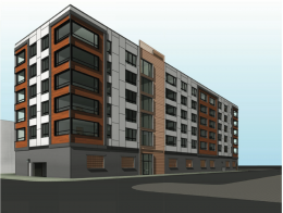 502 Wood Street Rendering via JKRP Architects