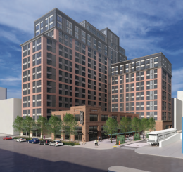 Broad And Noble rendering via Barton Partners.