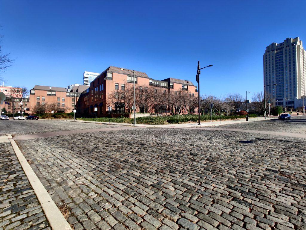 One Dock Street looking northeast. Photo by Thomas Koloski