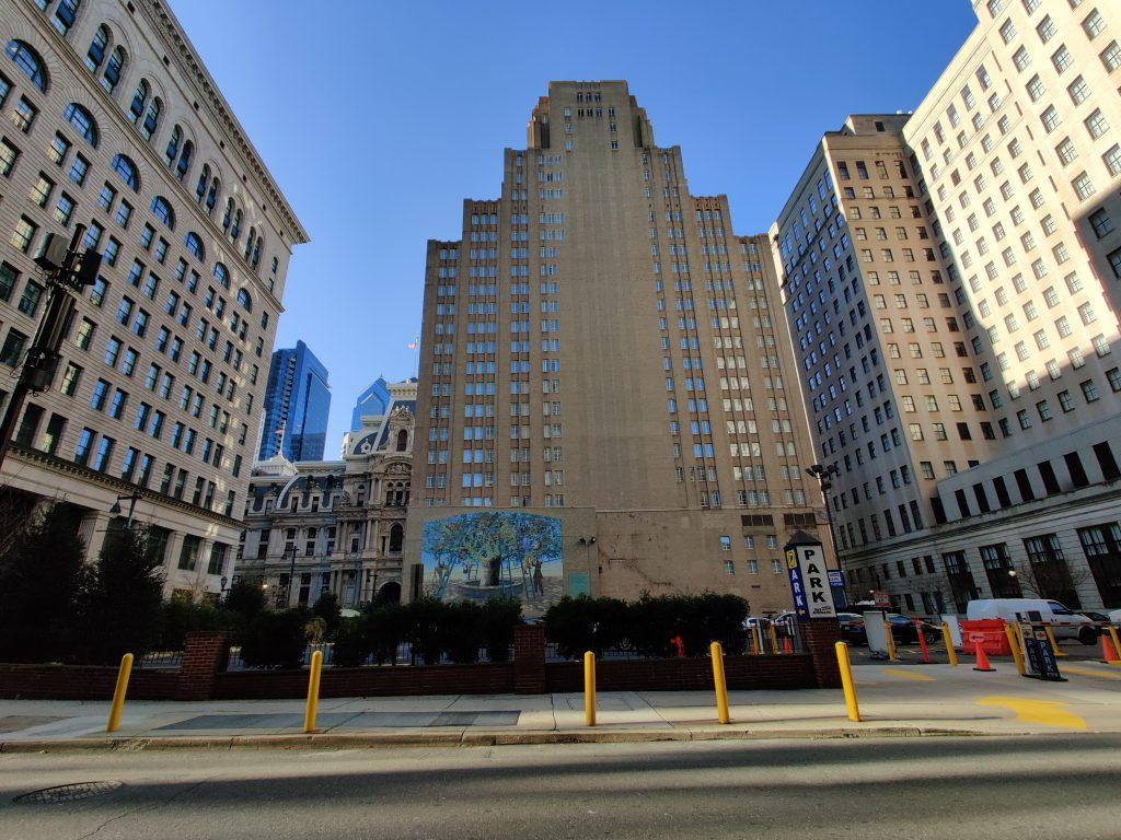 1301 Market Street looking west. Photo by Thomas Koloski
