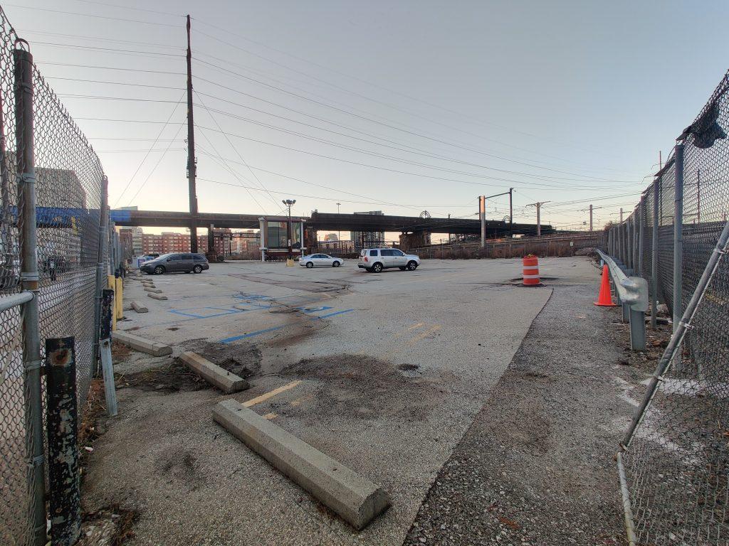 3001 John F. Kennedy Boulevard site looking northwest. Photo by Thomas Koloski