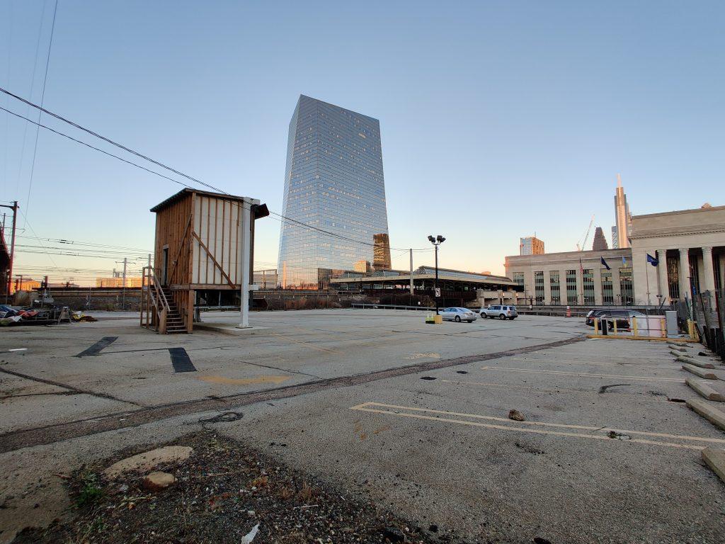 3001 John F. Kennedy Boulevard site looking northeast. Photo by Thomas Koloski