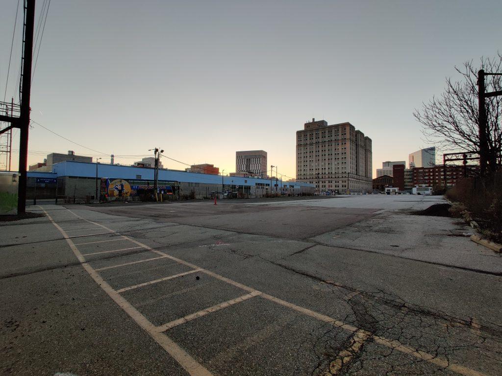 3025 John F. Kennedy Boulevard site from the north. Photo by Thomas Koloski