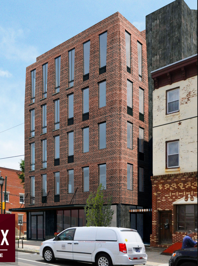 The Bordeaux rendering via Argo Property Group.
