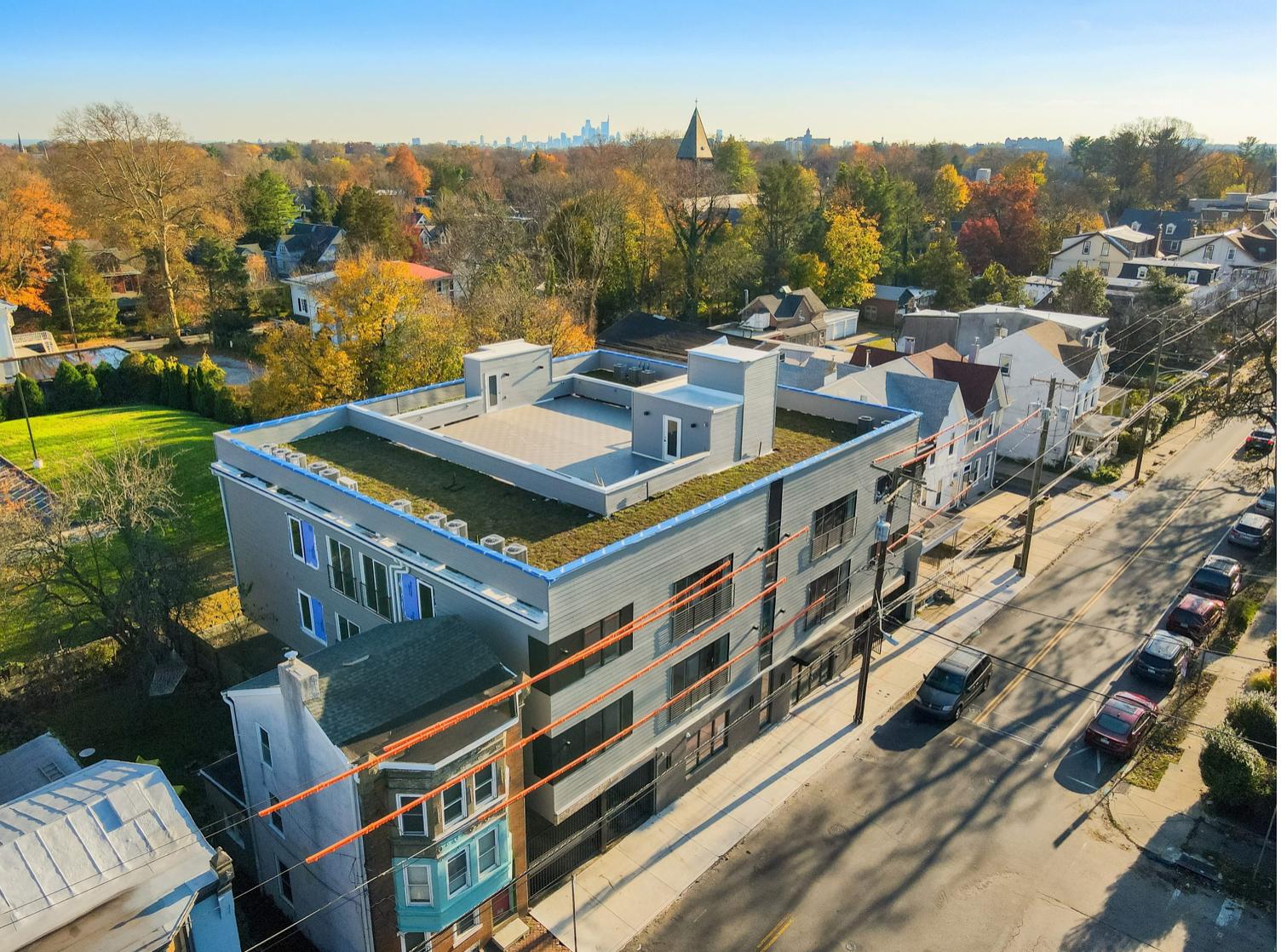 Washington Court at 52-60 West Washington Lane via Tester Construction.