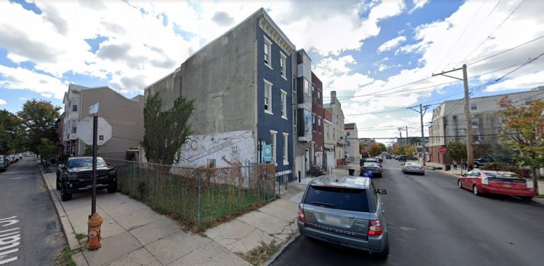 1227 South 4th Street. Looking southeast. Credit: Google