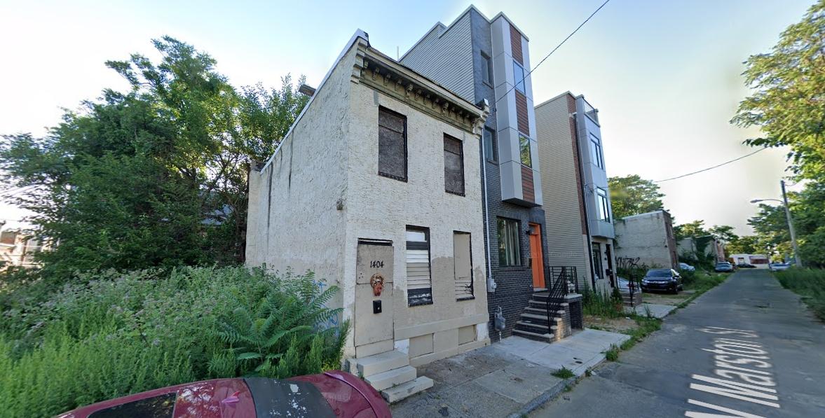 1401 North Marston Street. Credit: Google