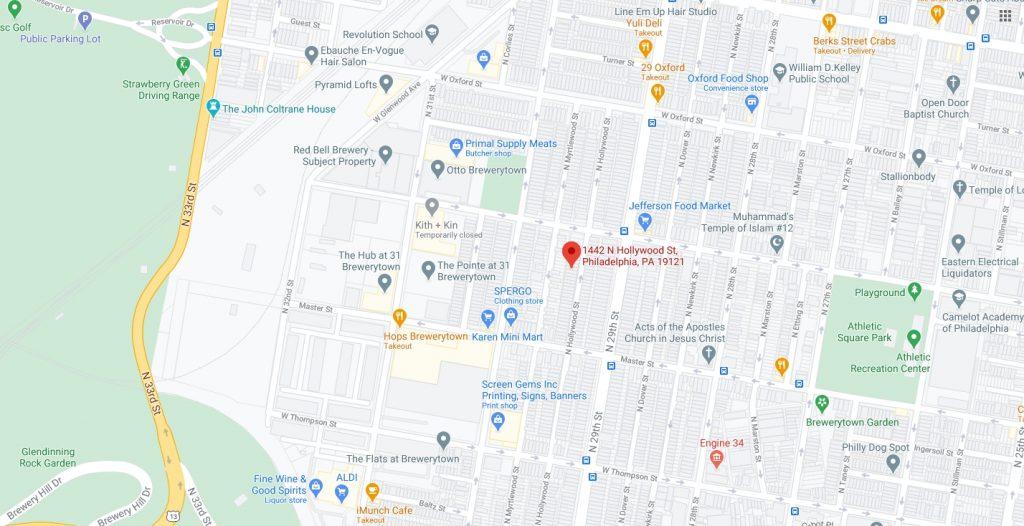1442 North Hollywood Street. Credit: Google