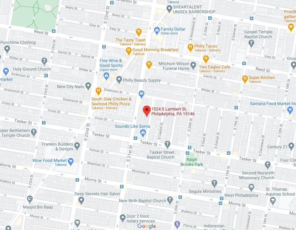 1524 South Lambert Street. Credit: Google