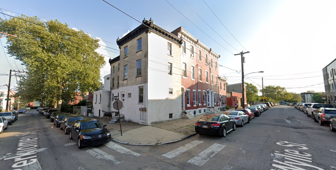 1753 Wylie Street. Looking south. Credit: Google