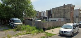 2245 East William Street. Looking east. Credit: Google