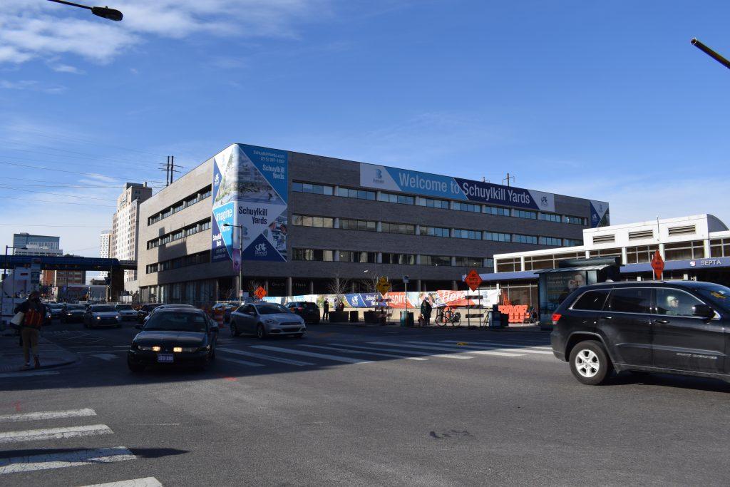 Schuylkill Yards Bulletin Building before renovation. Photo by Thomas Koloski