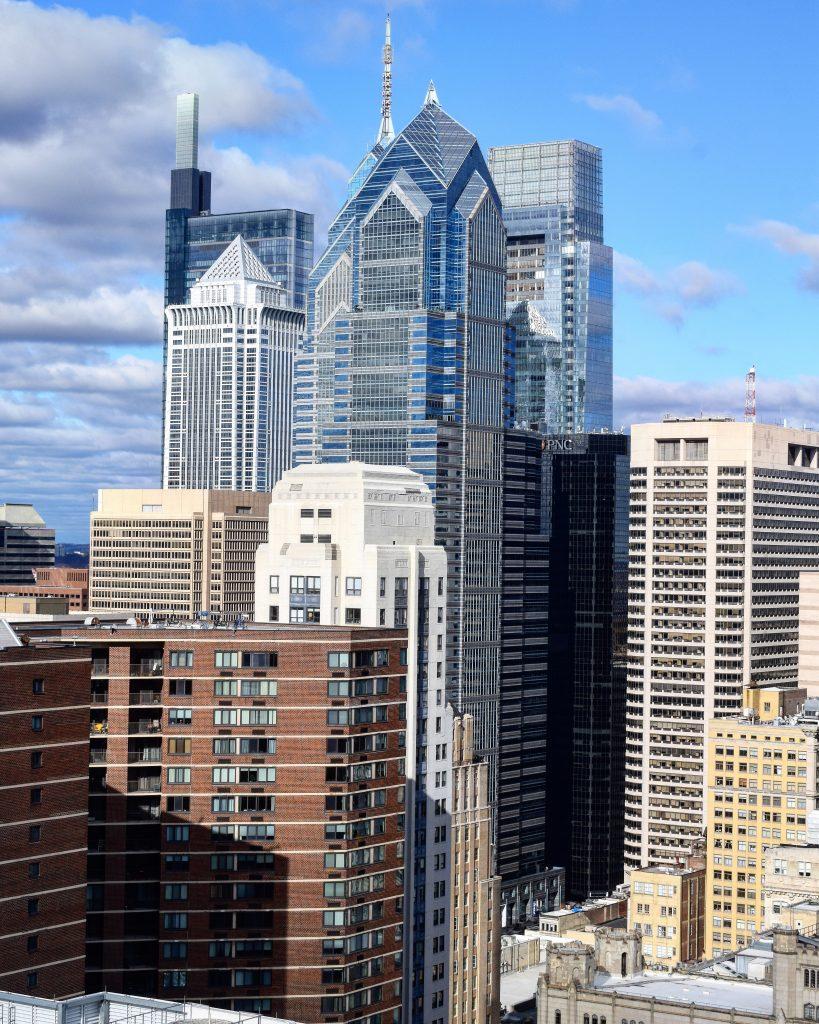 Center City towers from Arthaus. Photo by Thomas Koloski