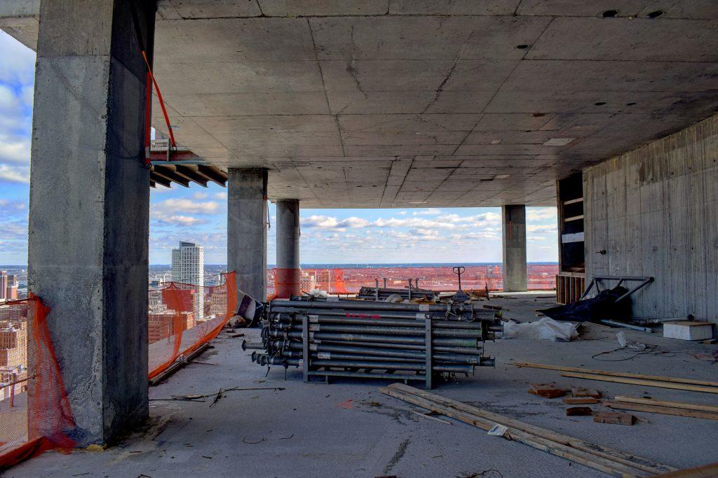 35th floor of Arthaus looking east. Photo by Thomas Koloski