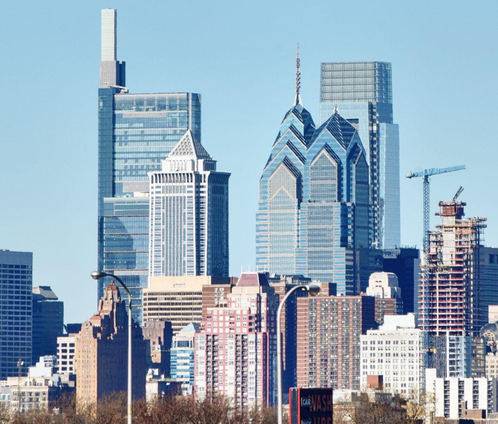 Arthaus and the Center City Towers. Photo by Thomas Koloski