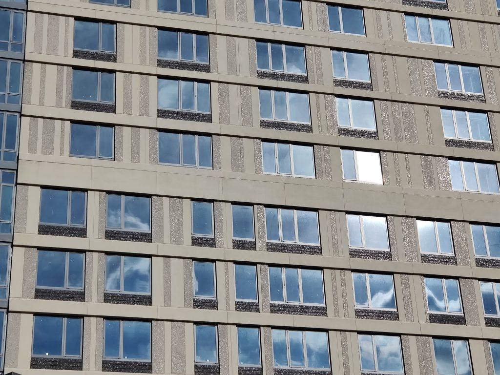 1300 Fairmount Avenue facade. Photo by Thomas Koloski