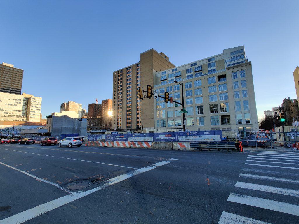 2222 Market Street looking southeast. Photo by Thomas Koloski