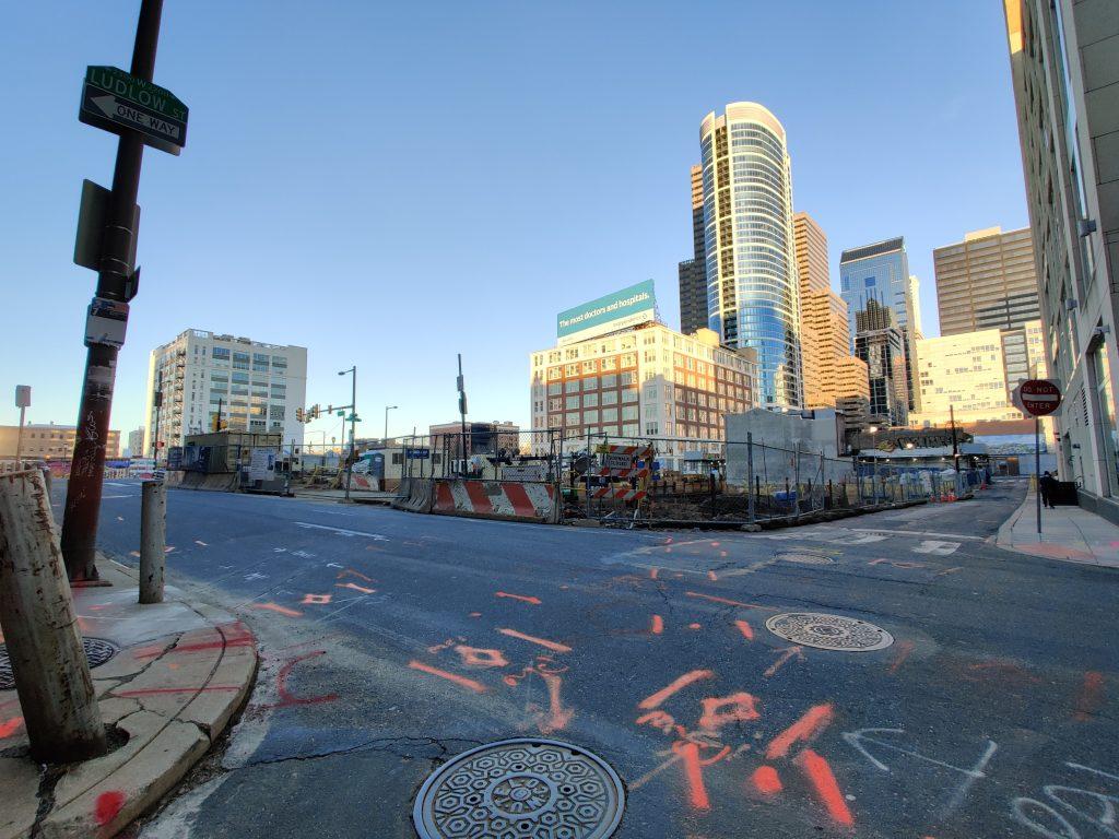 2222 Market Street looking northeast. Photo by Thomas Koloski