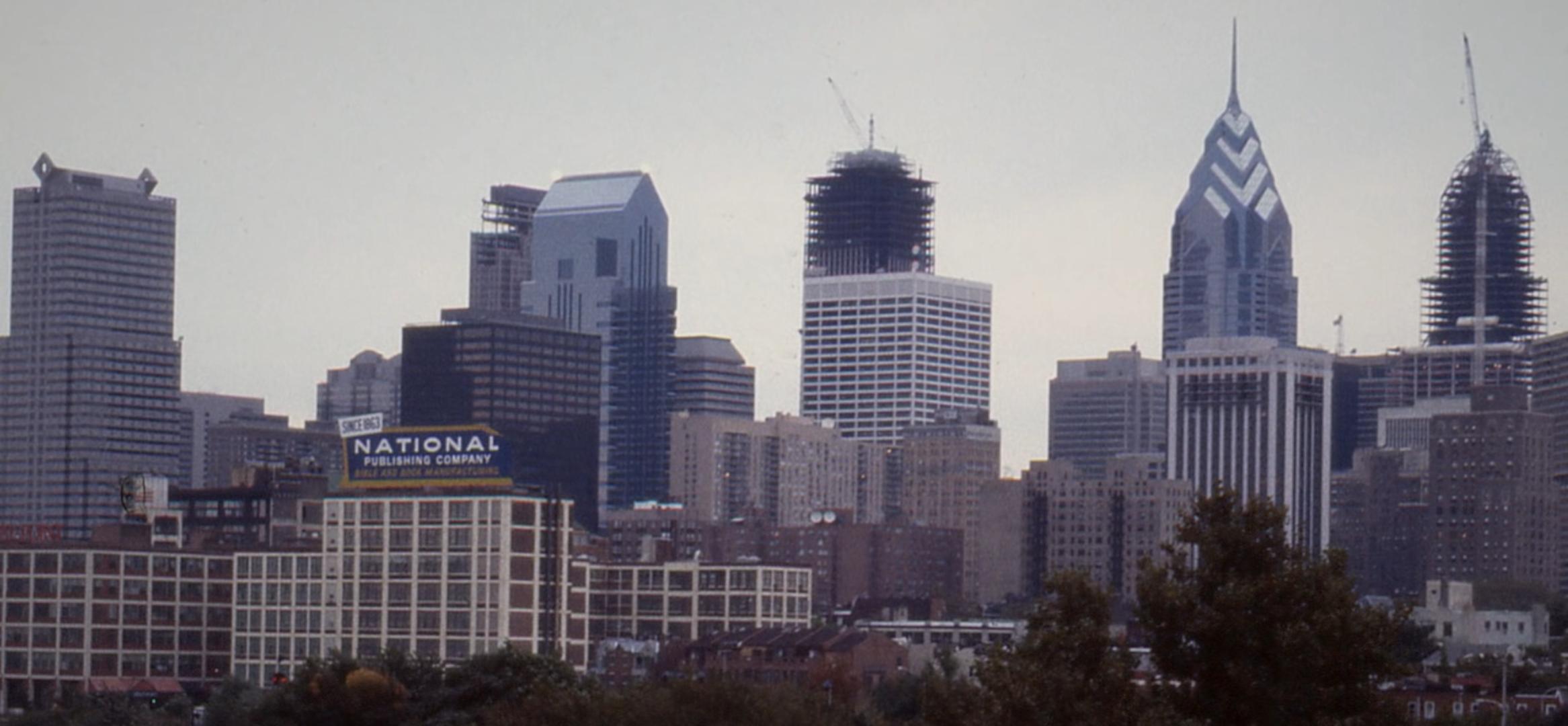 Philadelphia skyline from South Street Bridge. Photo by The Philadelphia Inquirer