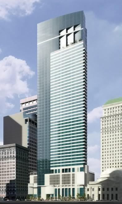 Waldorf Astoria looking northwest. Image via Cope-Linder Architects