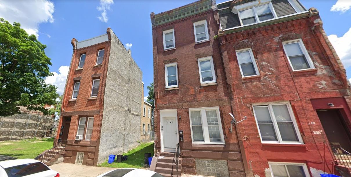2251 North 16th Street. Looking northeast. Credit: Google