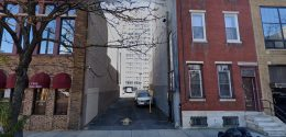 245 North 12th Street. Looing east. Credit: Google