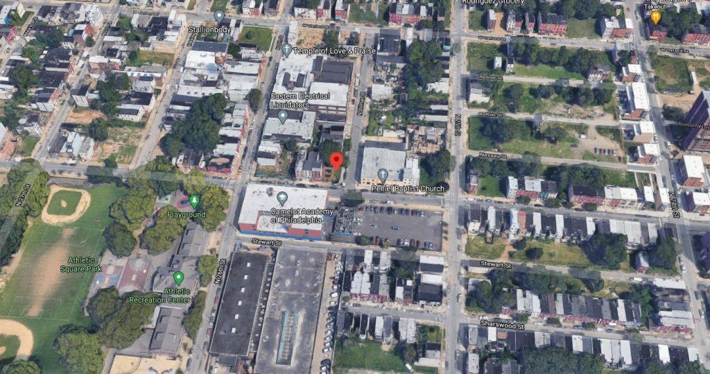 2521 Jefferson Street. Looking north. Credit: Google
